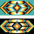 Traditional (native) AmericIndipattern, vector — Stock fotografie #22995332