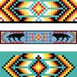 Traditional (native) AmericIndipattern, vector — Stockfoto #22995340