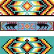 Traditional (native) AmericIndipattern, vector — Foto Stock #22995340