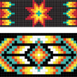Traditional (native) American Indian pattern, vector — Stock Photo #22995370