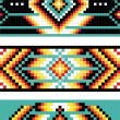 Traditional (native) American Indian pattern, vector — Stock Photo #22995382
