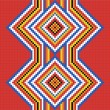 Traditional (native) American Indian pattern, vector — Stock Photo #22995390
