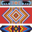 Traditional (native) American Indian pattern, vector — Stock Photo #22995392