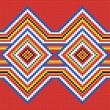 Stock Photo: Traditional (native) AmericIndipattern, vector