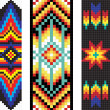 Traditional (native) AmericIndipattern, vector — Stok Fotoğraf #22995418
