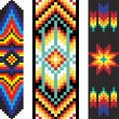 Traditional (native) AmericIndipattern, vector — Stock fotografie #22995418