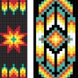 Traditional (native) American Indian pattern, vector — Stock Photo #22995422