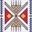Traditional (native) AmericIndipattern, vector — Stockfoto #22995430