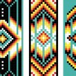 Traditional (native) American Indian pattern, vector — Stock Photo #22995432