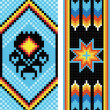 Traditional (native) American Indian pattern, vector — Stock Photo #22995440