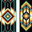Traditional (native) AmericIndipattern, vector — Stok Fotoğraf #22995442