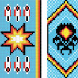 Traditional (native) American Indian pattern, vector - Photo
