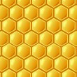 Stock Photo: Bee's honeycomb, seamless pattern , vector illustration