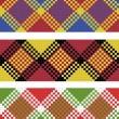 Royalty-Free Stock Photo: Vector illustration of plaid (tartan) seamless pattern