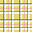 Vector illustration of plaid (tartan) seamless pattern — Stock Photo