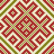 Stock Photo: Ethnic slavic seamless pattern25