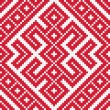 Stock Photo: Ethnic slavic seamless pattern3