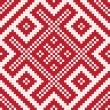 Stock Photo: Ethnic slavic seamless pattern7
