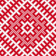 Stock Photo: Ethnic slavic seamless pattern4