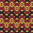 Ukrainian ethnic seamless ornament, 70, vector — Foto de Stock