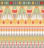 Egyptian ornament, vector illustration, seamless pattern — Stock Photo