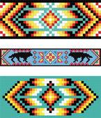 Tradycyjny (native) american indian wzór, wektor — Zdjęcie stockowe