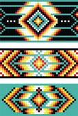 Traditional (native) American Indian pattern, vector — Stok fotoğraf
