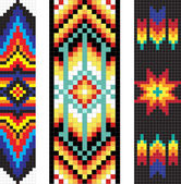 Traditional (native) American Indian pattern, vector — Foto Stock