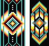 Traditional (native) American Indian pattern, vector — ストック写真