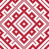 Etniczne słowiańskie pattern5 bez szwu — Zdjęcie stockowe