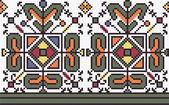 Seamless pattern of national ukrainian ornament, vector — Stock Photo