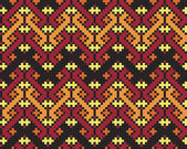 Ukrainian ethnic seamless ornament, 70, vector — Stock Photo