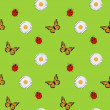 Vector summer background, seamless pattern — Stock Photo #23075302