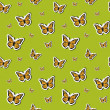 Vector summer background, seamless pattern — Stock Photo