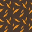 Stock Photo: Vector background with feathers , seamless pattern