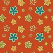 Vector floral vintage background , seamless pattern — Stock Photo #23077430