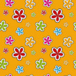 Vector floral background , seamless pattern — Stock Photo #23080496