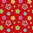 Vector floral background , seamless pattern — Stock Photo #23080500