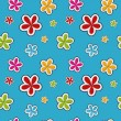Vector floral background , seamless pattern — Stock Photo #23080502