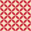abstraktní geometrické bezešvé pattern, vektorové ilustrace — Stock fotografie