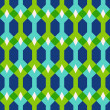 Abstract geometric seamless pattern, vector illustration — Stock Photo