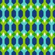padrão sem emenda abstrato geométrico, ilustração vetorial — Foto Stock