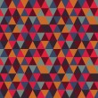 Abstract geometric seamless pattern, vector illustration — 图库照片