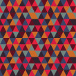 Abstract geometric seamless pattern, vector illustration — Photo