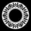 Greek national round pattern — Imagen vectorial