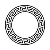 Greek national round pattern — Vector de stock