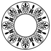Greek national round pattern — Vector de stock