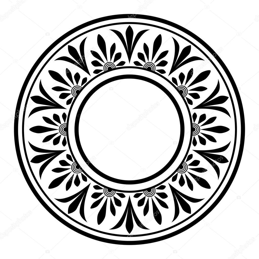 Греческий национальный круглый шаблон — стоковый вектор ...: http://ru.depositphotos.com/34479015/stock-illustration-greek-national-round-pattern.html