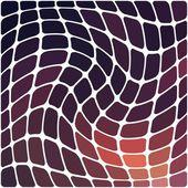 Barevné geometrické mozaiky vzor — Stock vektor