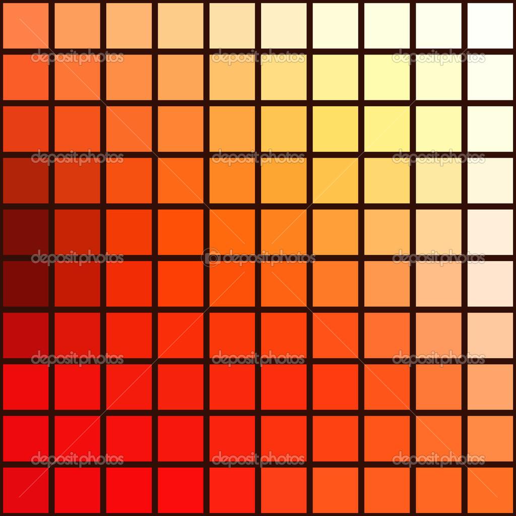 丰富多彩的几何形状马赛克图案